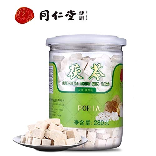 Beijing Tong Ren Tang Pure Nature Organic Traditionelle Kräuter Poria Cocos Stücke Fuling茯苓 280g